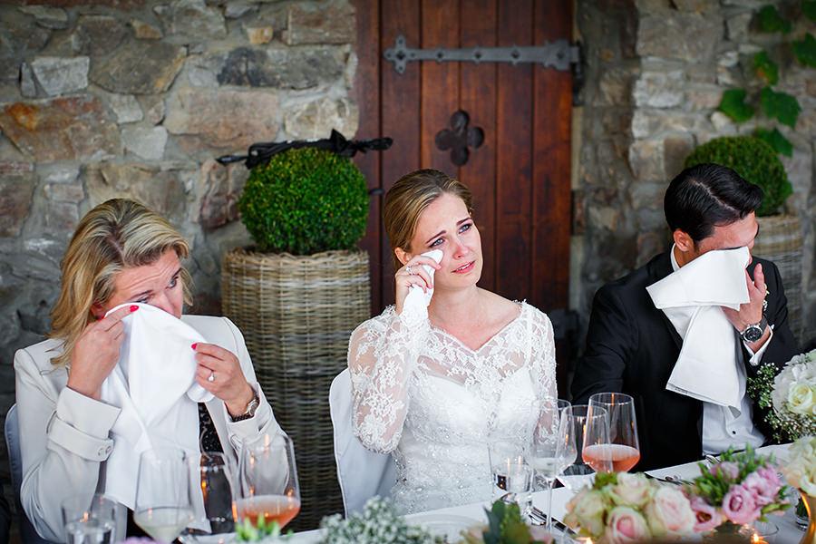 Hochzeitsfeier Burgterrasse Schwarzenstein