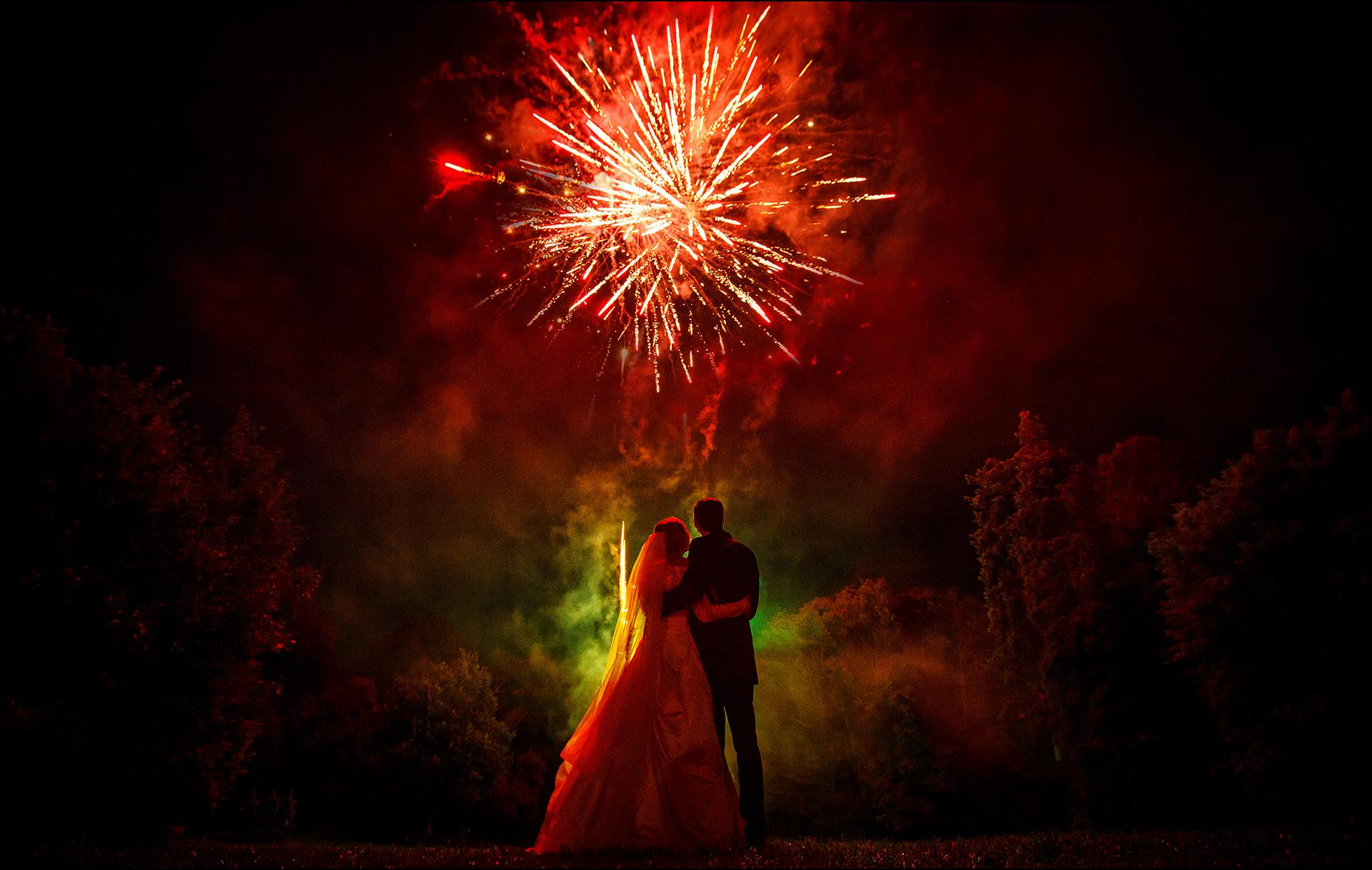 Hochzeitsfeuerwerk Königstein