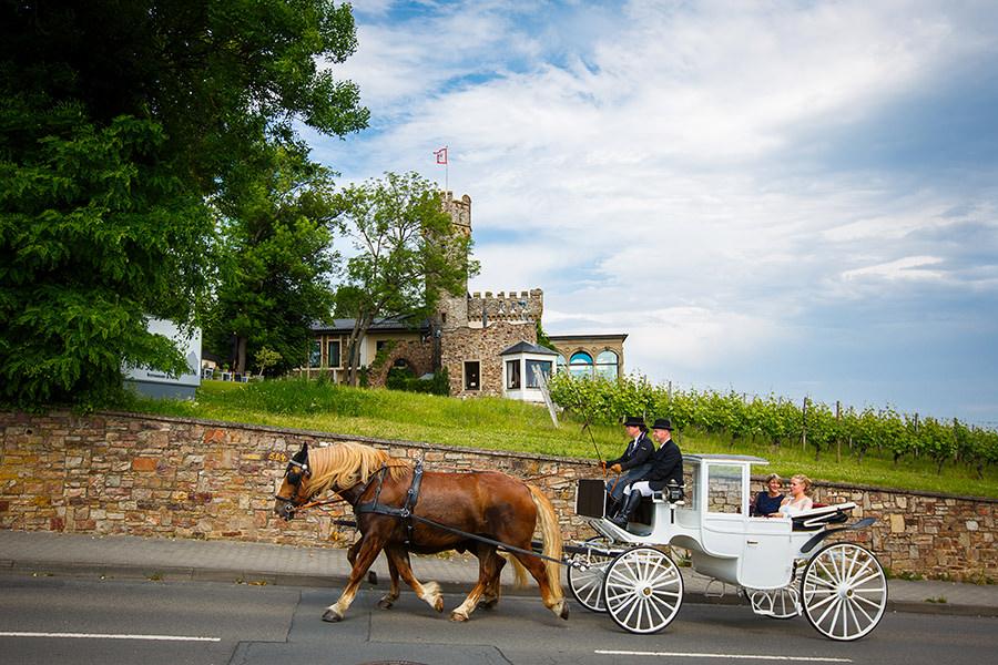 Hochzeitskutsche Rheingau