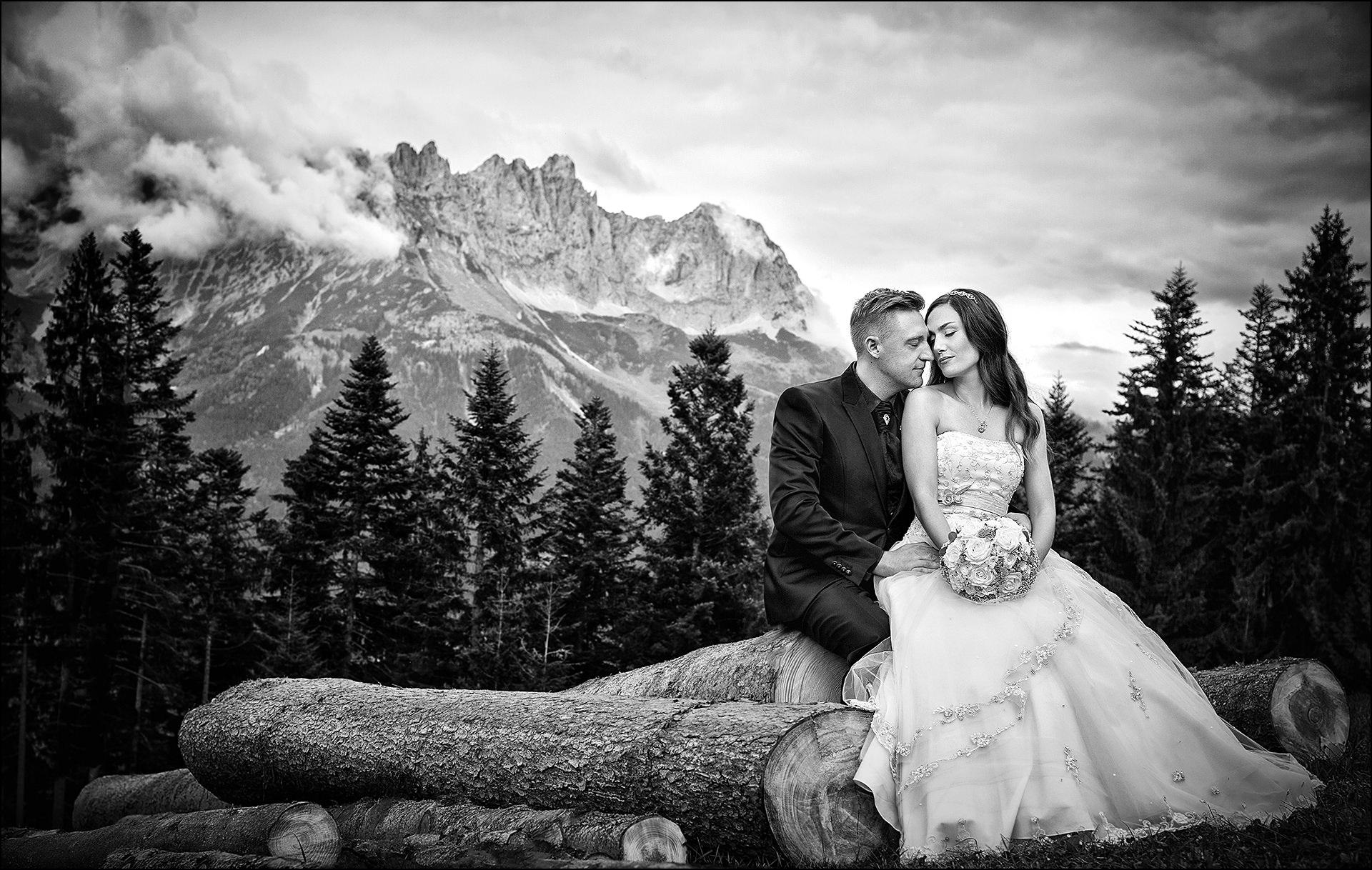 Hochzeitsfotos Wilder Kaiser