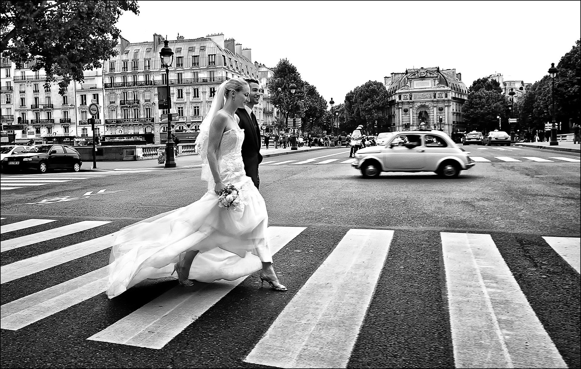 After Wedding Shooting Paris
