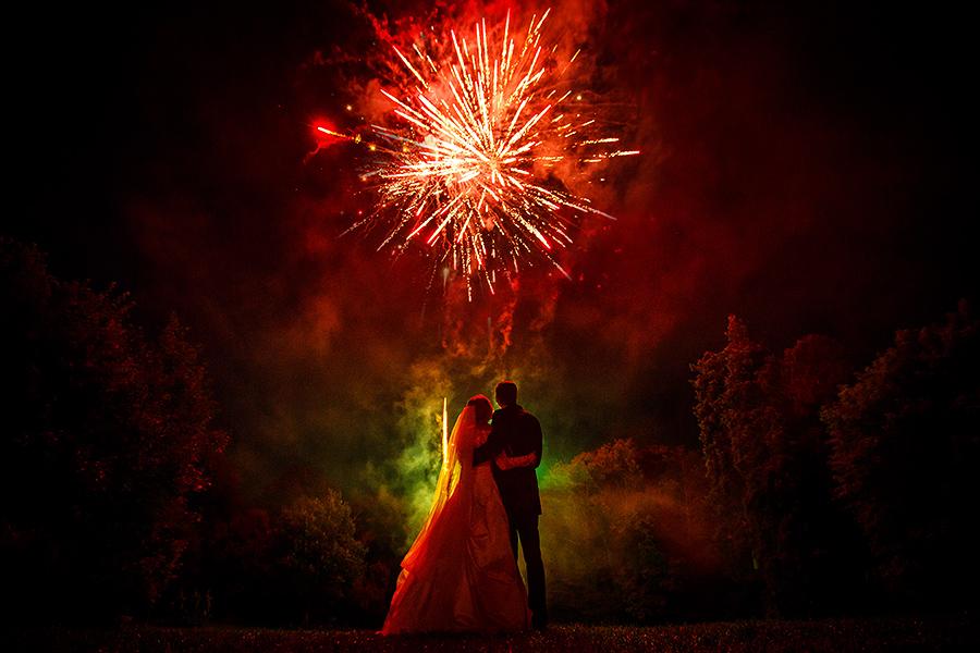 Hochzeitsfeuerwerk Villa Rothschild