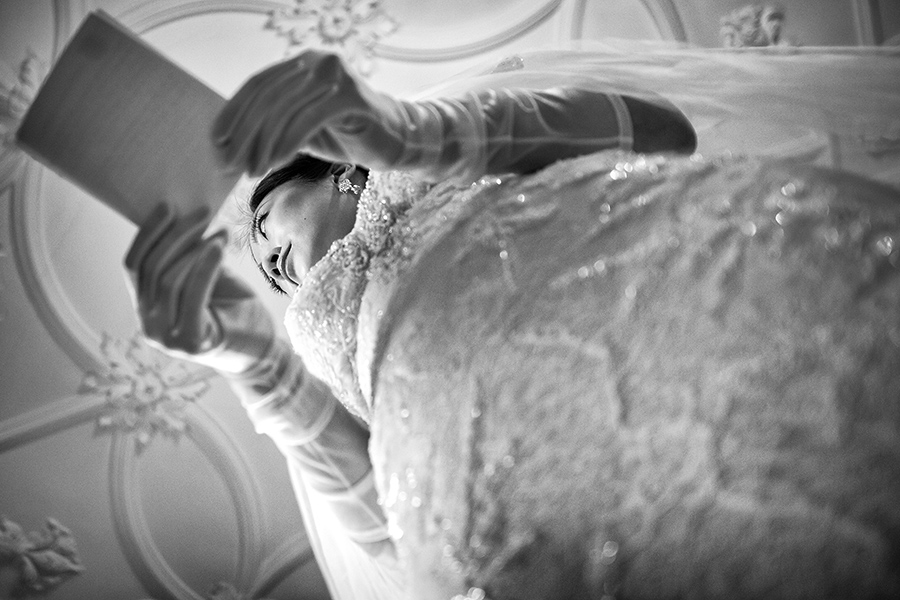 Emotionale Hochzeitsfotos Schlosshotel Kronberg