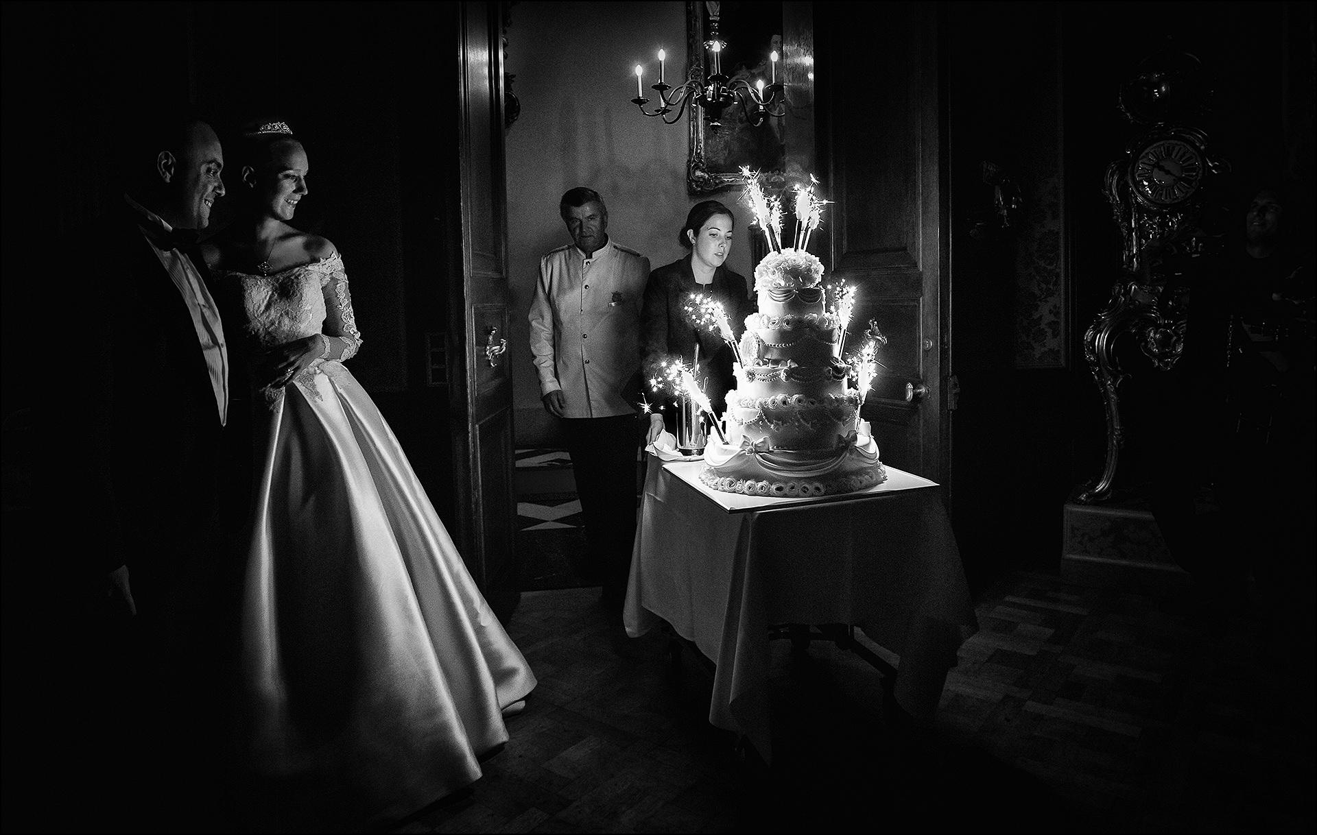 Hochzeitstorte im Schlosshotel Kronberg