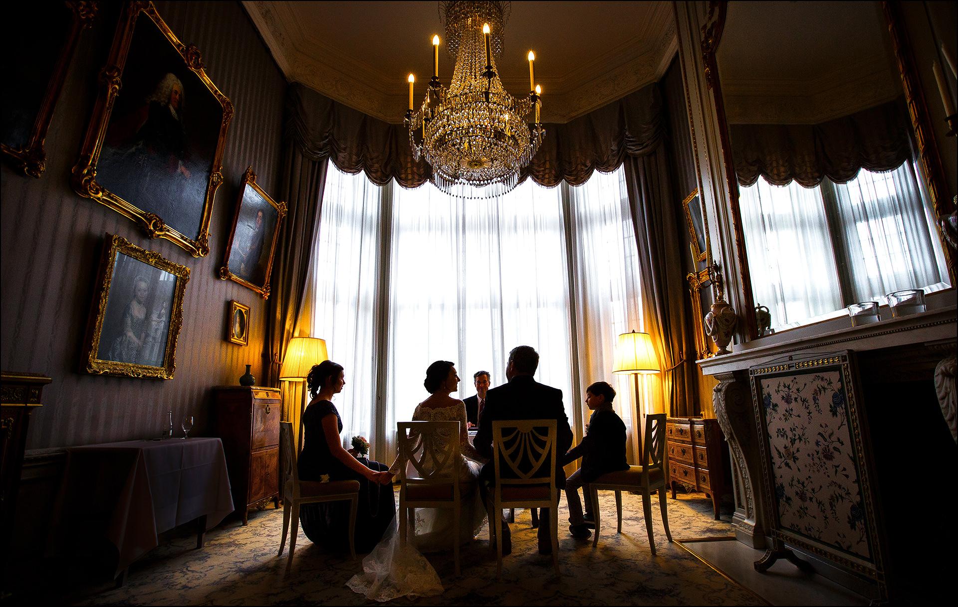 Standesamtliche Trauung im Schlosshotel Kronberg