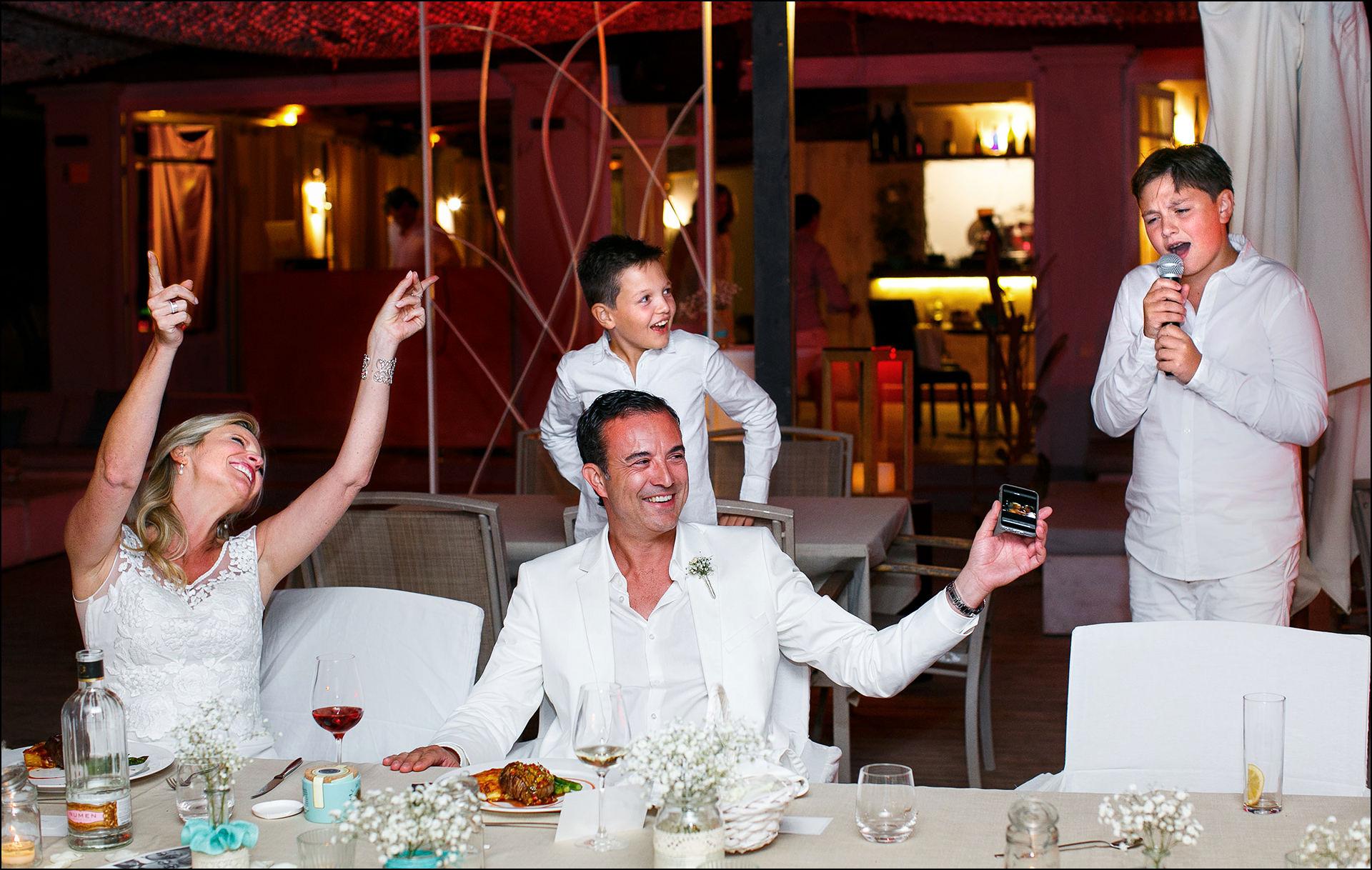 White Wedding Party Ibiza