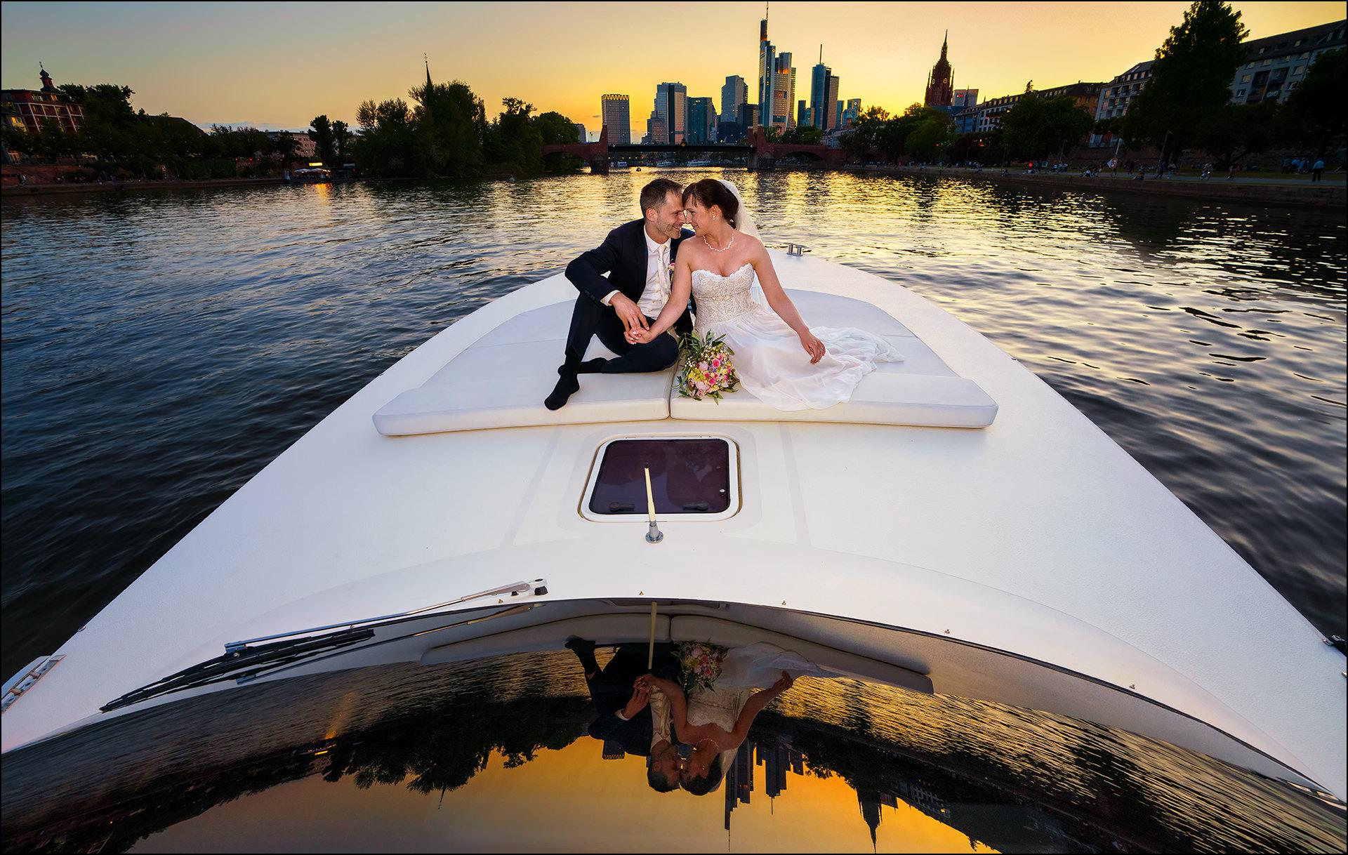 Hochzeitsfotos Brautpaar Frankfurt