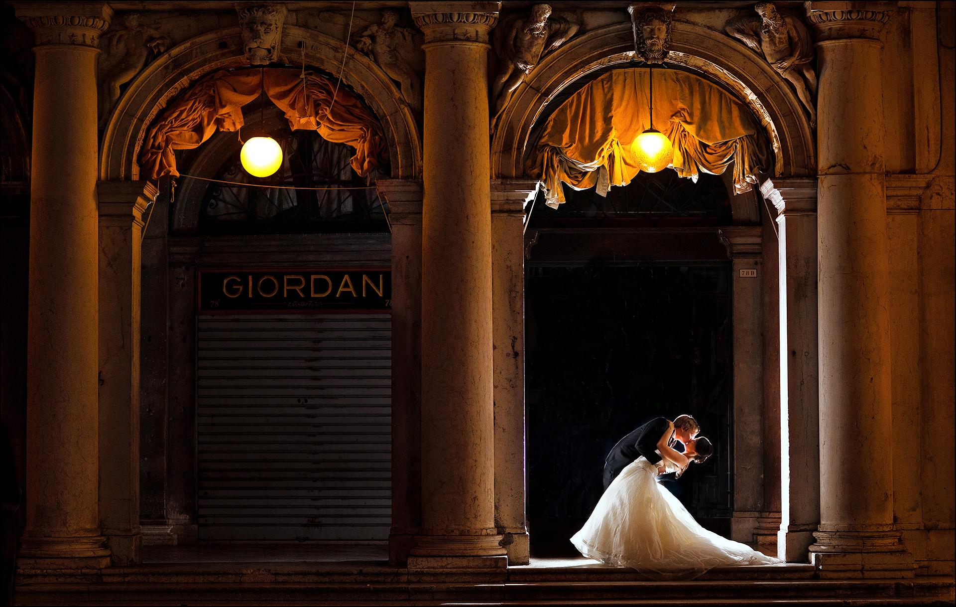 Hochzeitspaar-Shooting Venedig