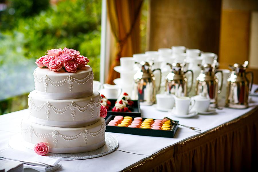 Hochzeitstorte Villa Rothschild