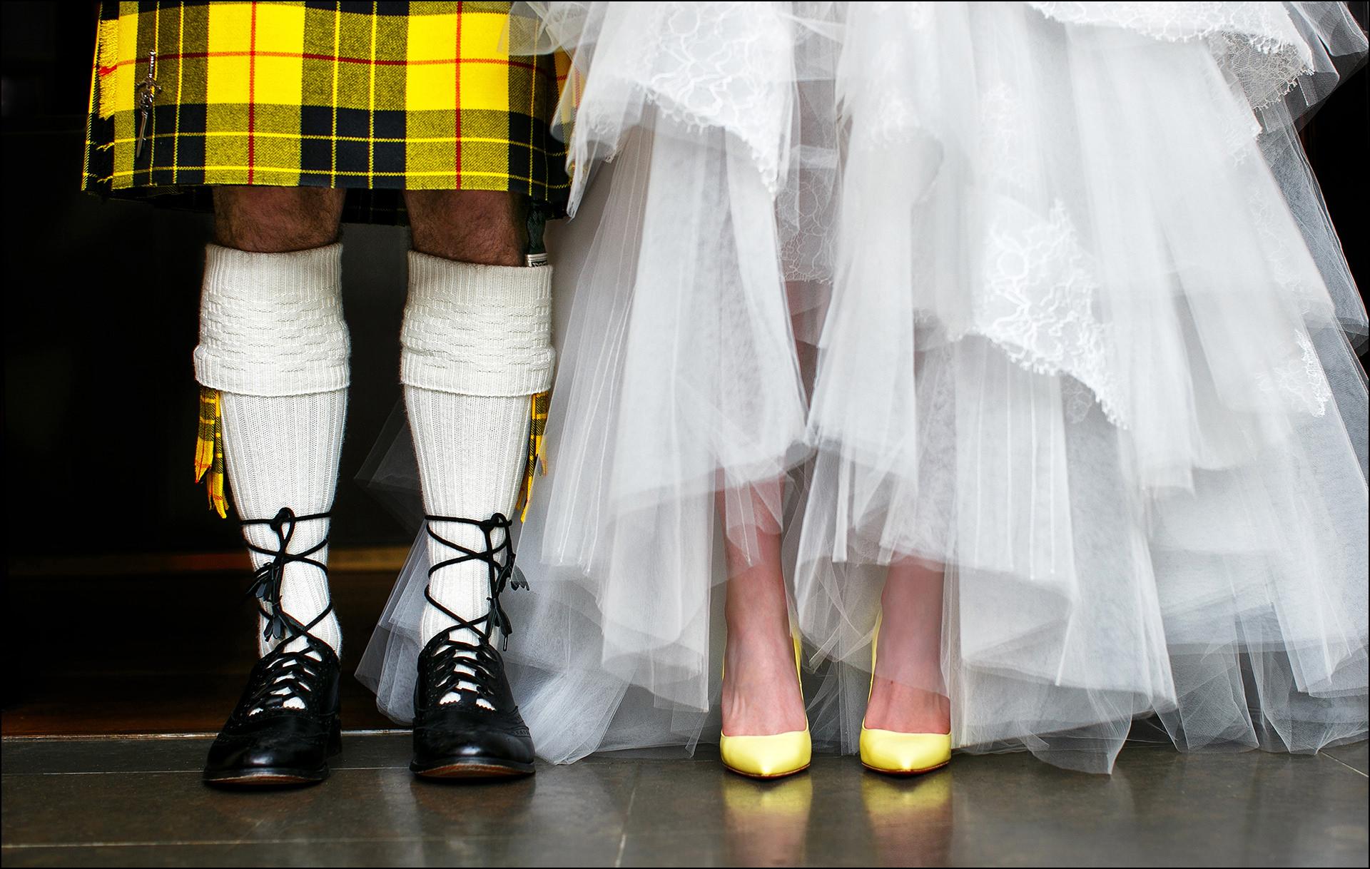 Schottische Hochzeit