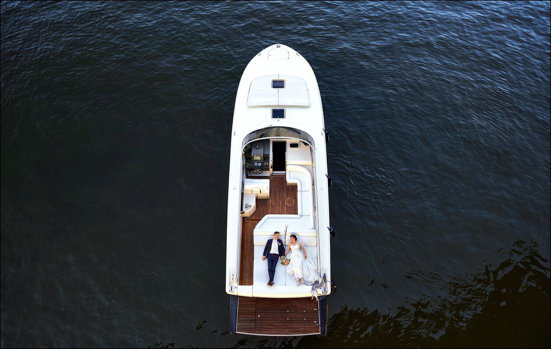 Hochzeitsfotos Drohne