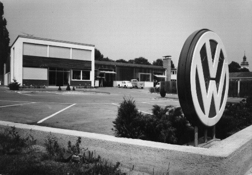 Betrieb in Retz 1971.