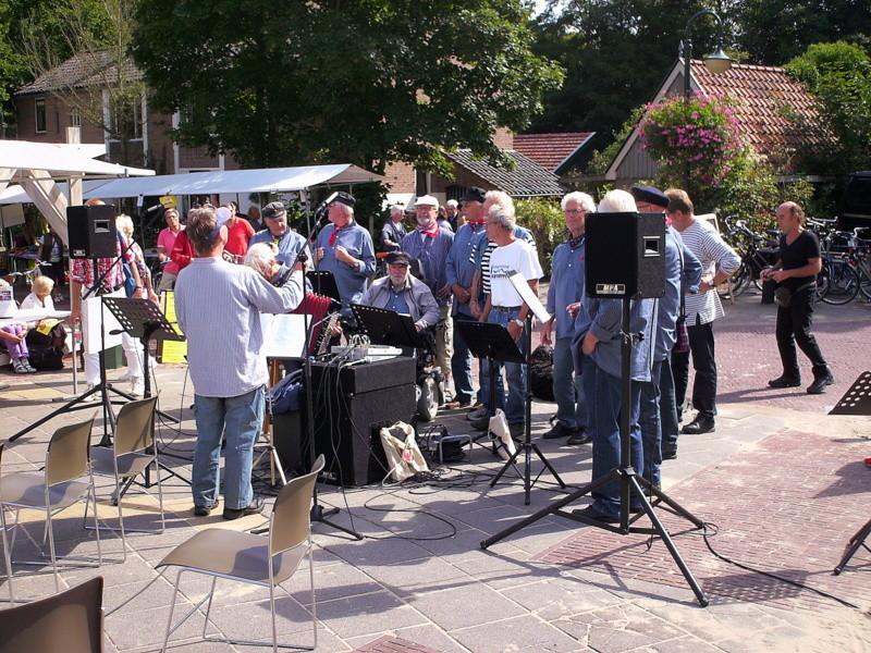 Promotiemarkt zaterdag 1 september 2012.
