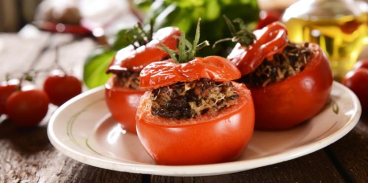 Tomates farcies  - Recette le cochon de falaise