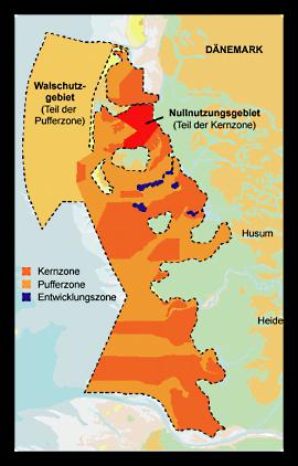 Pellworm ist umgeben vom Biosphärenreservat Schleswig-Holsteinisches Wattenmeer und Halligen.