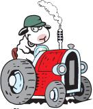 Pelle auf dem Traktor. Bild: Kur- und Tourismusservice Pellworm