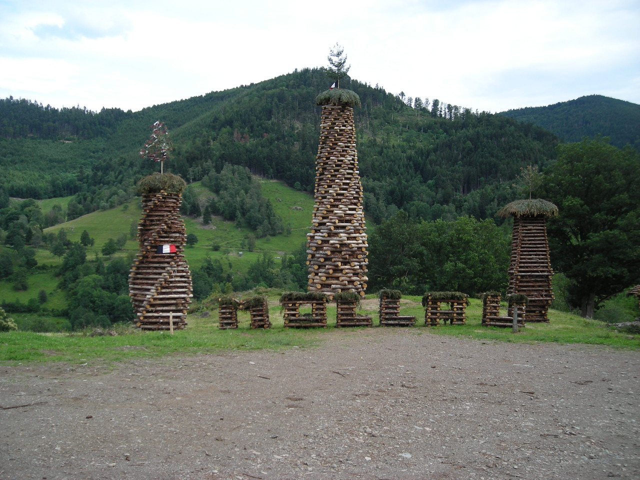 le bucher 2012 de Mollau