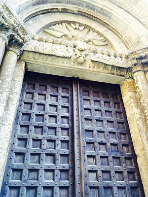 church doors italy
