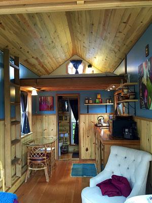 kangablue tiny house interior caravan tiny house hotel