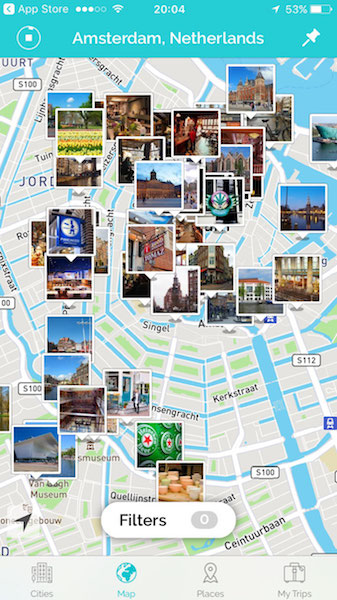 tripscout app map search