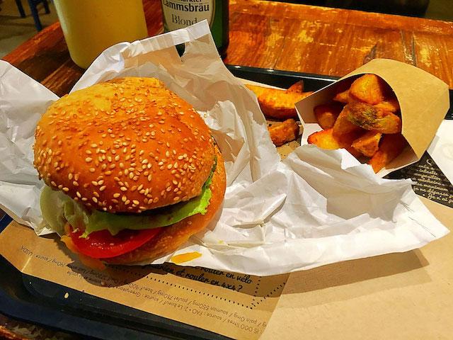 burger at hank paris france