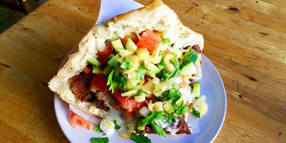 vegan doner kebab at voner