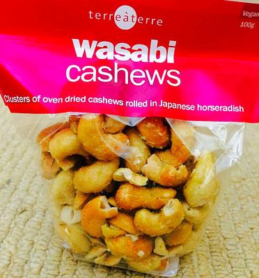 wasabi cashews Terre à Terre