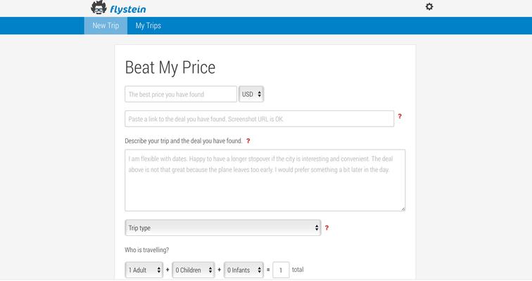 flystsein beat my price