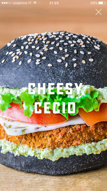 cheesy cecio vegan burger flower burger