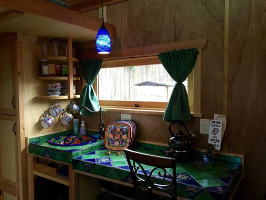 pacifica tiny house kitchen caravan tiny house hotel