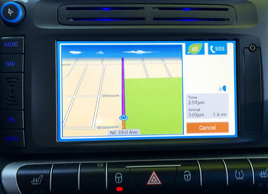 car2go smart car navigation