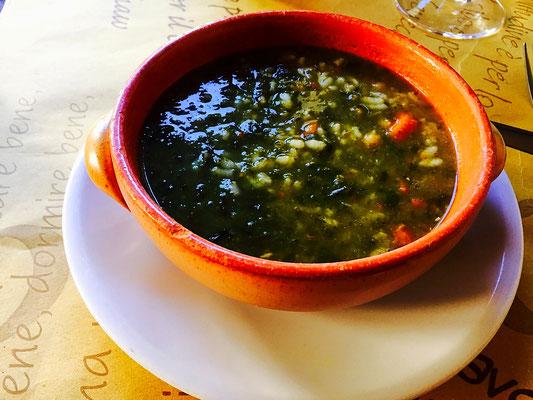 vegan lentil soup gavi italy