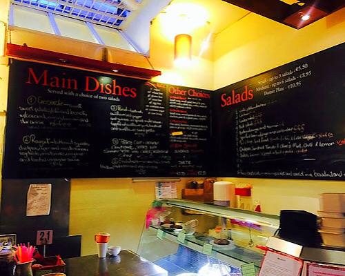cornucopia order counter vegan vegetarian restaurant dublin ireland