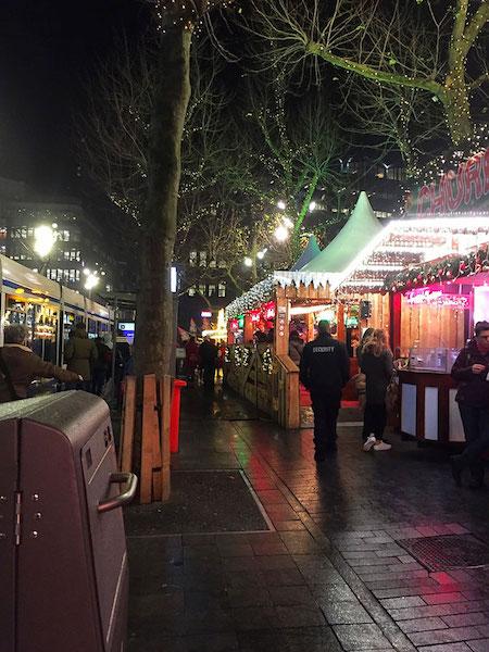 christmas market amsterdam netherlands