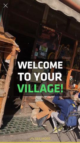village cafe in london hollabox app