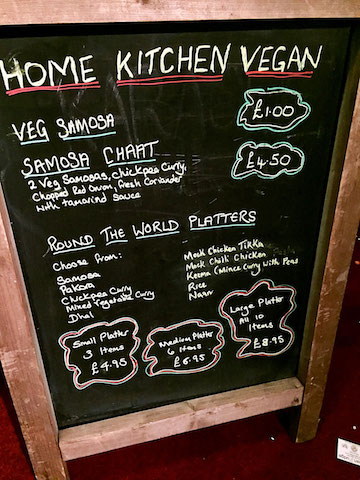 home kitchen vegan menu