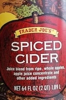 trader joe's spiced cider
