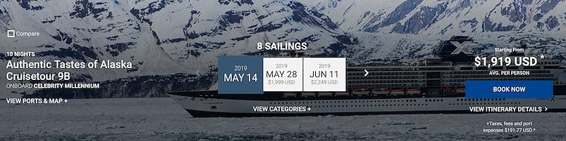 authentic tastes of alaska cruisetour