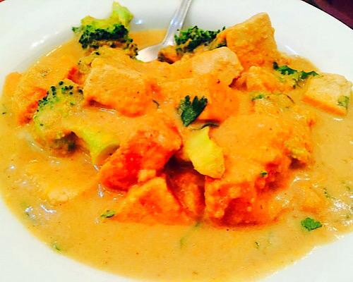 vegan tofu coconut curry
