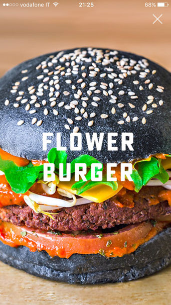 flower burger vegan burger