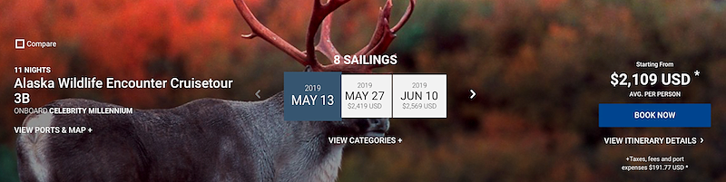 alaska wildlife encounter cruisetour