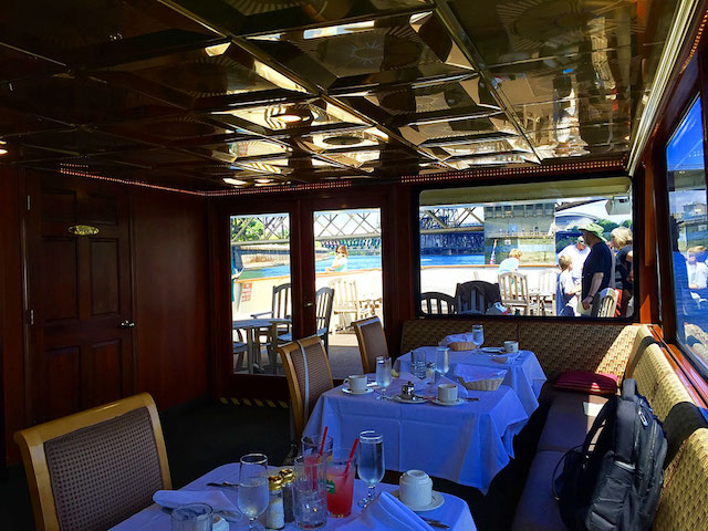 upstairs dining room portland river cruises willamette star