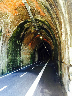 Cinque Terre cycling tunnels levanto italy