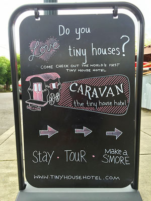 caravan tiny house hotel alberta street portland oregon