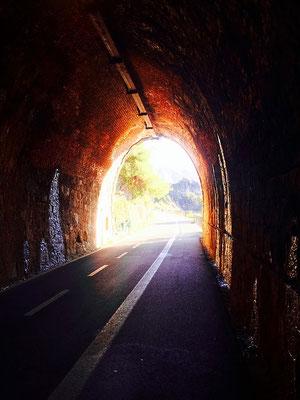 Cinque Terre tunnel levanto italy