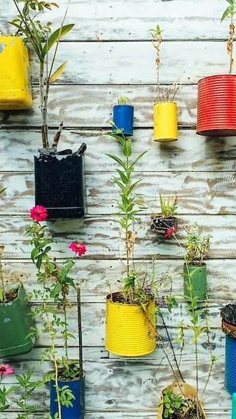 aim for a minimalist lifestyle with upcycling