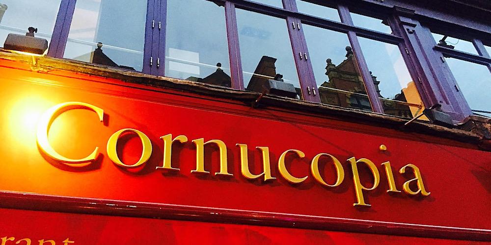 Cornucopia in Dublin, Ireland