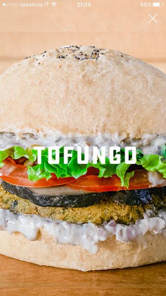 tofungo vegan burger flower burger