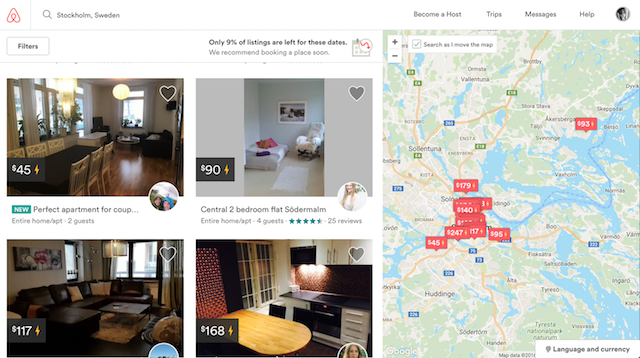 apartments on airbnb