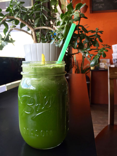 green juice nectar cafe